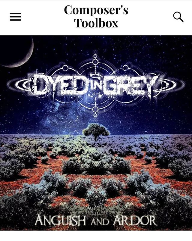 Head over to composers toolbox to check out their review of our track The Inquisitor. https://composerstoolbox.com/2018/11/04/dyed-grey-inquisitor/ #metal #Brooklyn #NYC #progmetal #musicreview