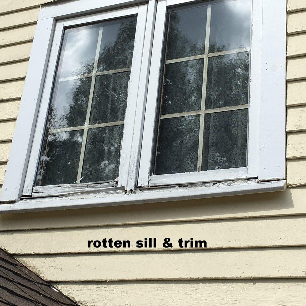 Exterior Window Trim — Robert C. Farquharson