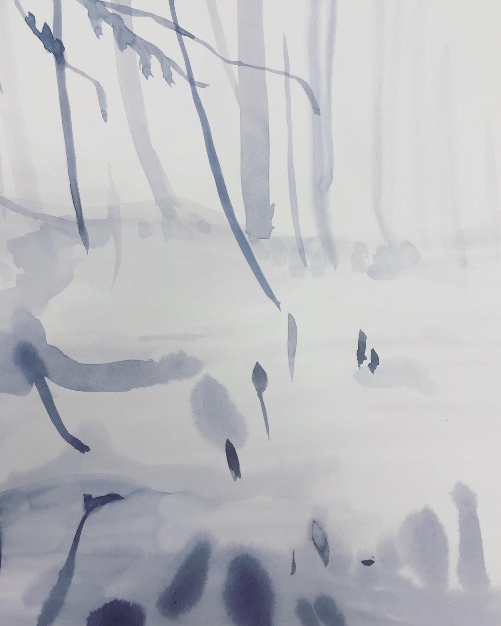 Blue forest Lindsay McDonagh
