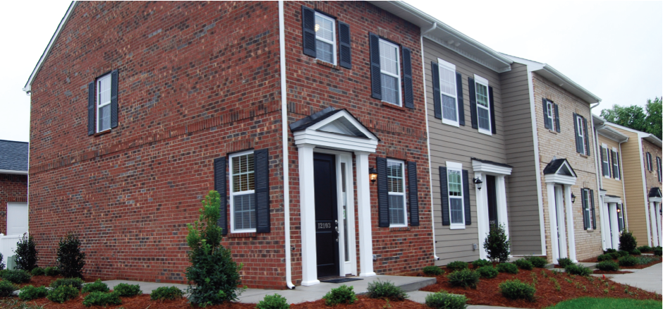 Charleston Row Townhomes at Parkway Crossing