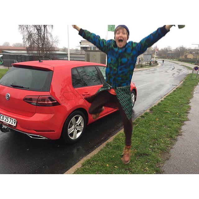 Happy driver!! Et styks glad mig - nu med kørekort!! .. #jegskalnokkøreordentligt