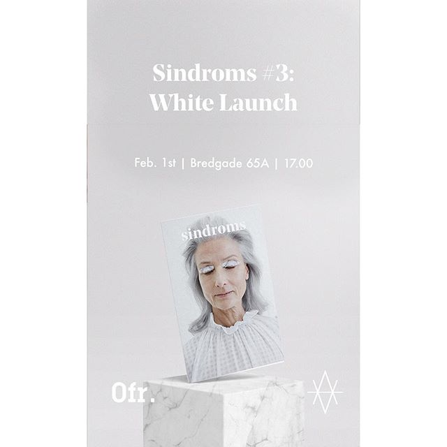 I use a lot of time working on spreading the awareness of contemporary textiles- I mostly do that through @kontempo_textiles !  SINDROMS made a feature on the work of KONTEMPO!  Tomorrow the White issue of @sindroms_ is out! Sindroms are having a launch in @valryggstudio in Copenhagen from 17.00-21.00.  @kontempo_textiles are doing a small art installation at the launch! .. Stay tuned .. #kontempo_textiles #thewhiteissue #launch #contemporarytextiles #design #isthiscolour #feature