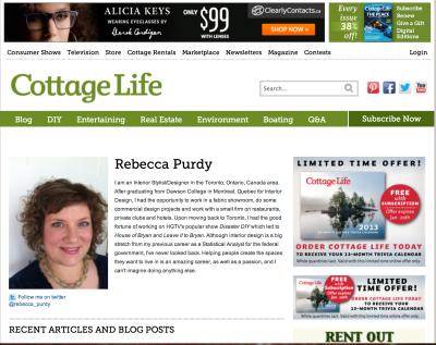 My Blog Rebecca Purdy