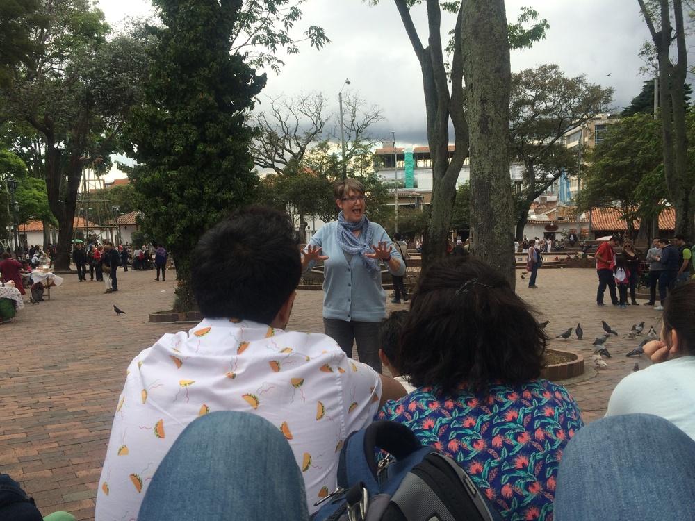Usaquen Park in Bogota, Colombia 2014