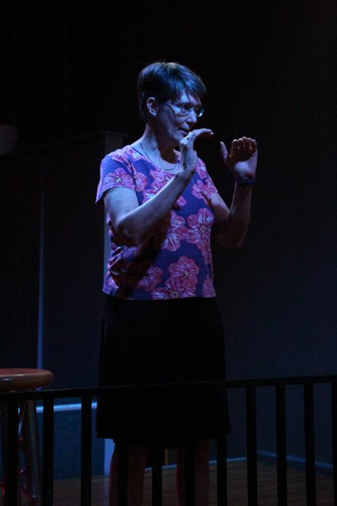 This picture is from a Story Slam in Kansas City a few years ago.