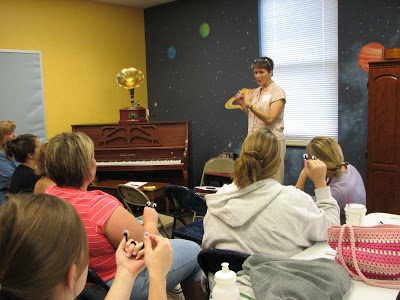 Teaching teachers to use puppets in 2008