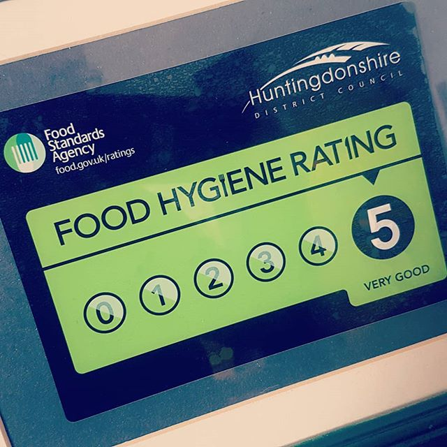 Just been awarded a five star rating on both of our food units.  #festivals #scotcheggs #poboys