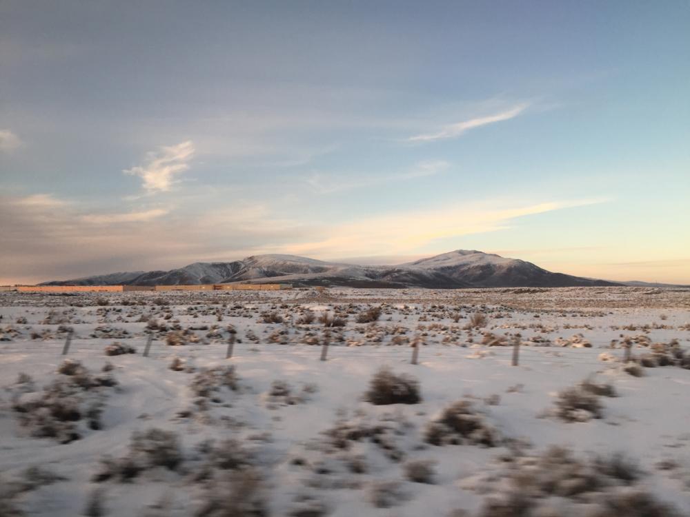 Somewhere near Gold Hill, NV — February 2016.