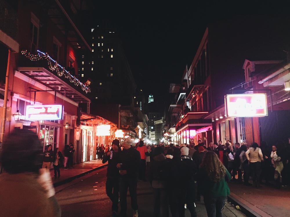 New Orleans, LA — January 2016.