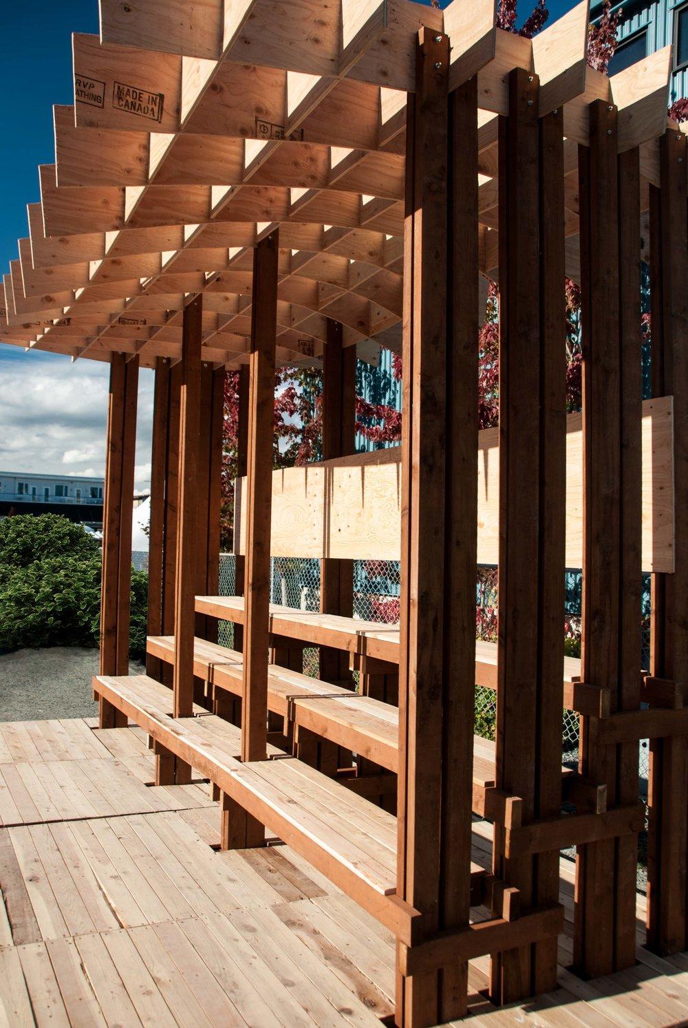 thinklandia waffle pavilion