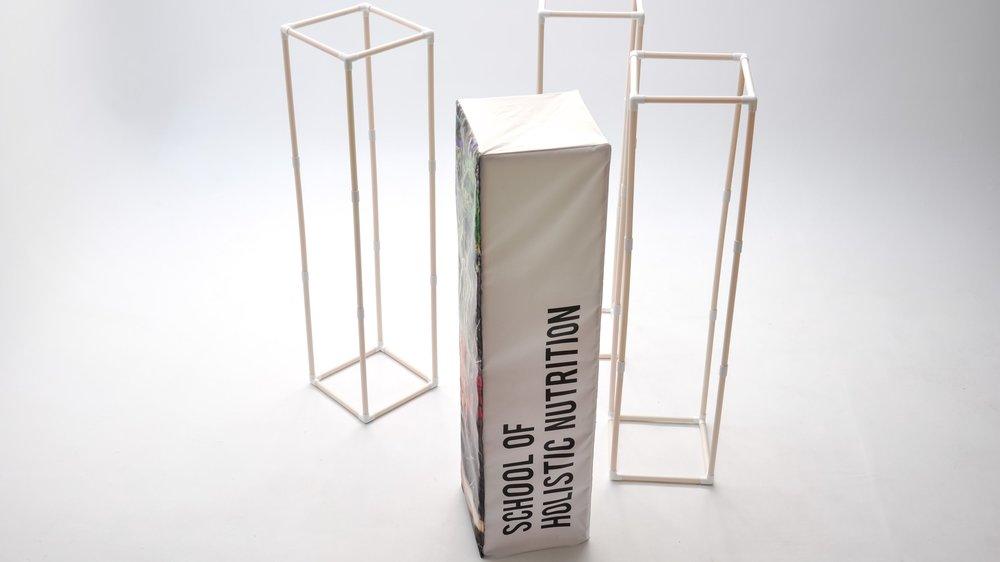 PVC frame portable tradeshow booth