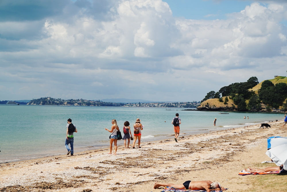 Devonport Beach.