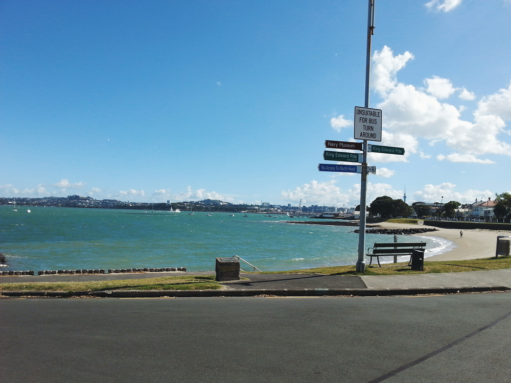 Devonport Beach, Ferry Terminal.
