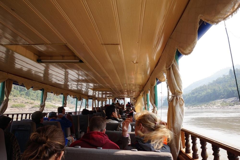 Slowboat till Luang Prabang