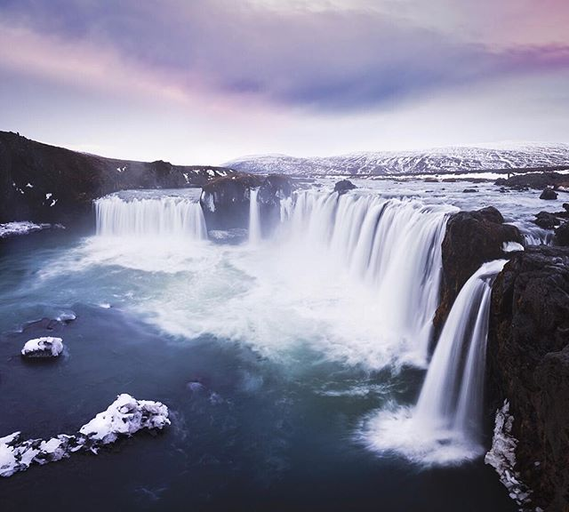 Godafoss, Iceland 😍 📸 @tonyeckersley  #ResourceTravel #Outside_Project ———————————— * * *  #Iceland #IG_Iceland  #MyStopover #InspiredByIceland #TLPicks #TravelStoke #OpenMyWorld #WildernessCulture #LifeOfAdventure #SimplyAdventure #AdventureCulture #OptOutside #MoodyGrams #ArtOfVisuals #Travel #PassionPassport #TheOutBound #CampVibes #OurCampLife #CampingCollective #KeepItWild #CampCoop #LongExposure_Shots