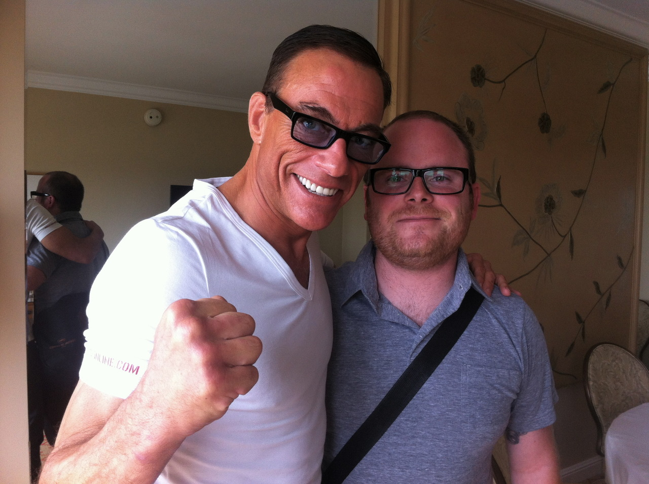 It's not every day that you get to meet and interview your childhood hero. I did just that this weekend. Interview coming soon. - with Jean-Claude Van Damme