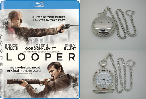 loopermovie: Psssst.  Wanna win a blu and pocketwatch from our friend Chase at chasewhale.com? SURE YA DO! Click here and good luck!