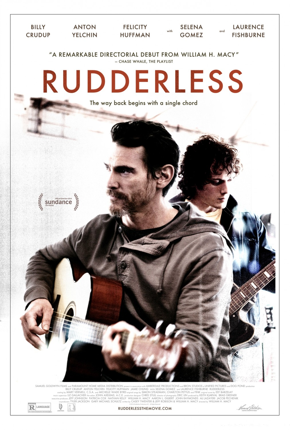 Too cool, a quote from my Sundance review of Rudderless made it on the poster.