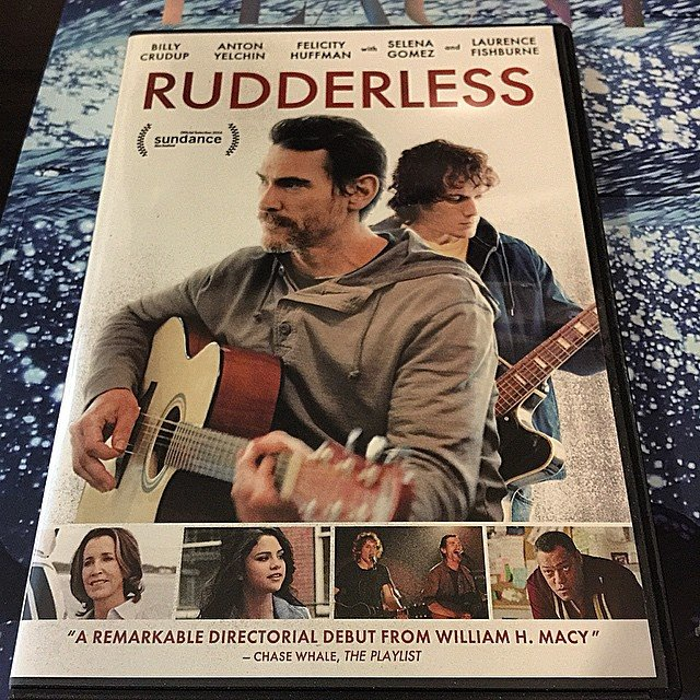Bill Macy's RUDDERLESS is releasing on DVD soon. Delightfully humbled my review is quoted on the cover.
