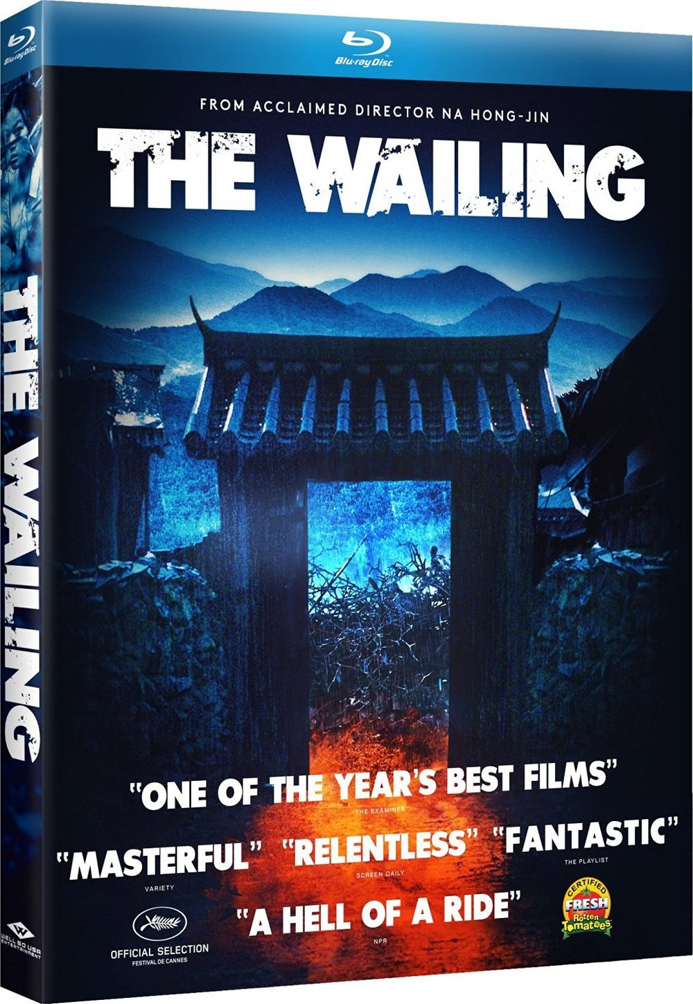 The Wailing Blu-ray Cover