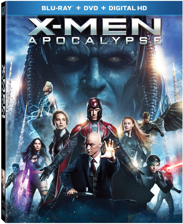 X-Men: Apocalypse Blu-ray Cover