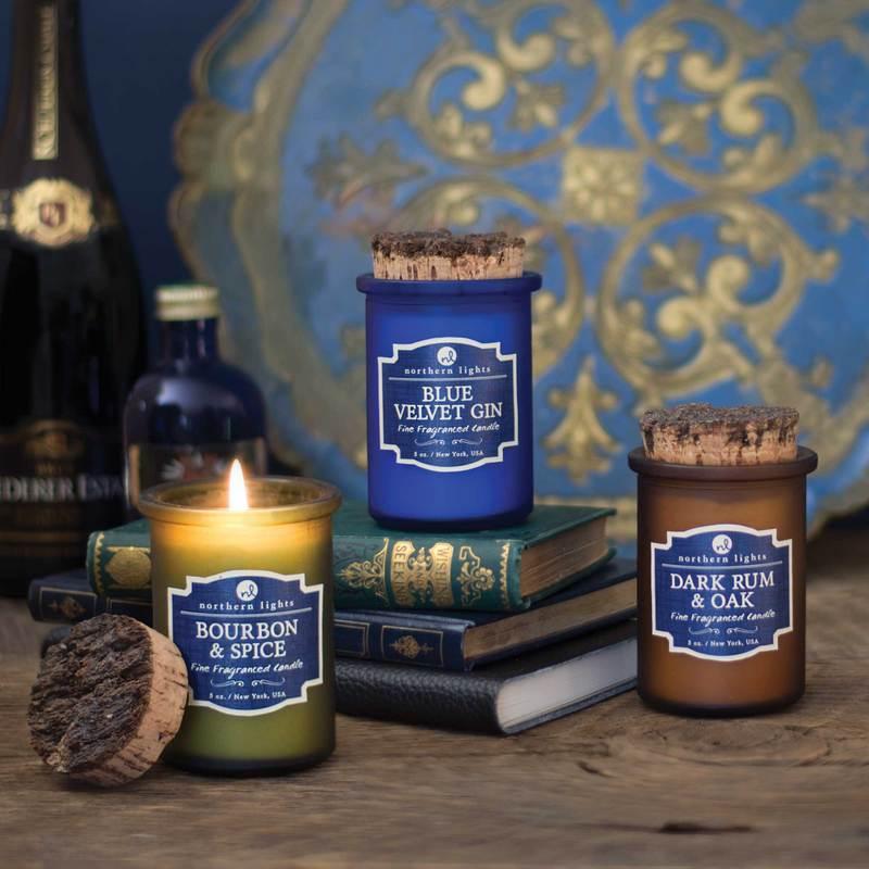 New Fragrances - Blue Velvet GinBourbon & SpiceDark Rum & Oak