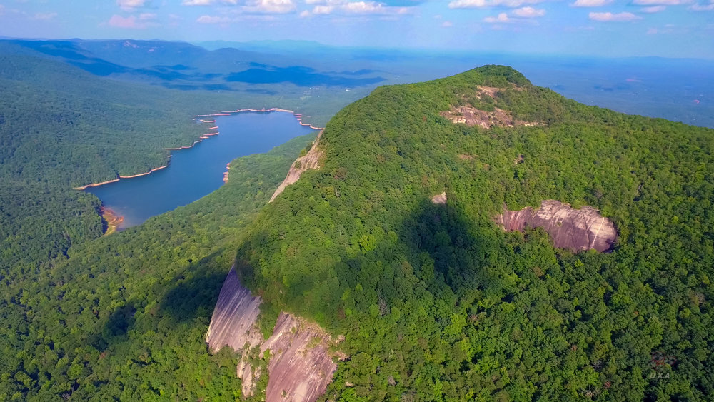 Table Rock State Park - our most popular video. An aerial perspective of one of Upstate SC's most hiked areas.