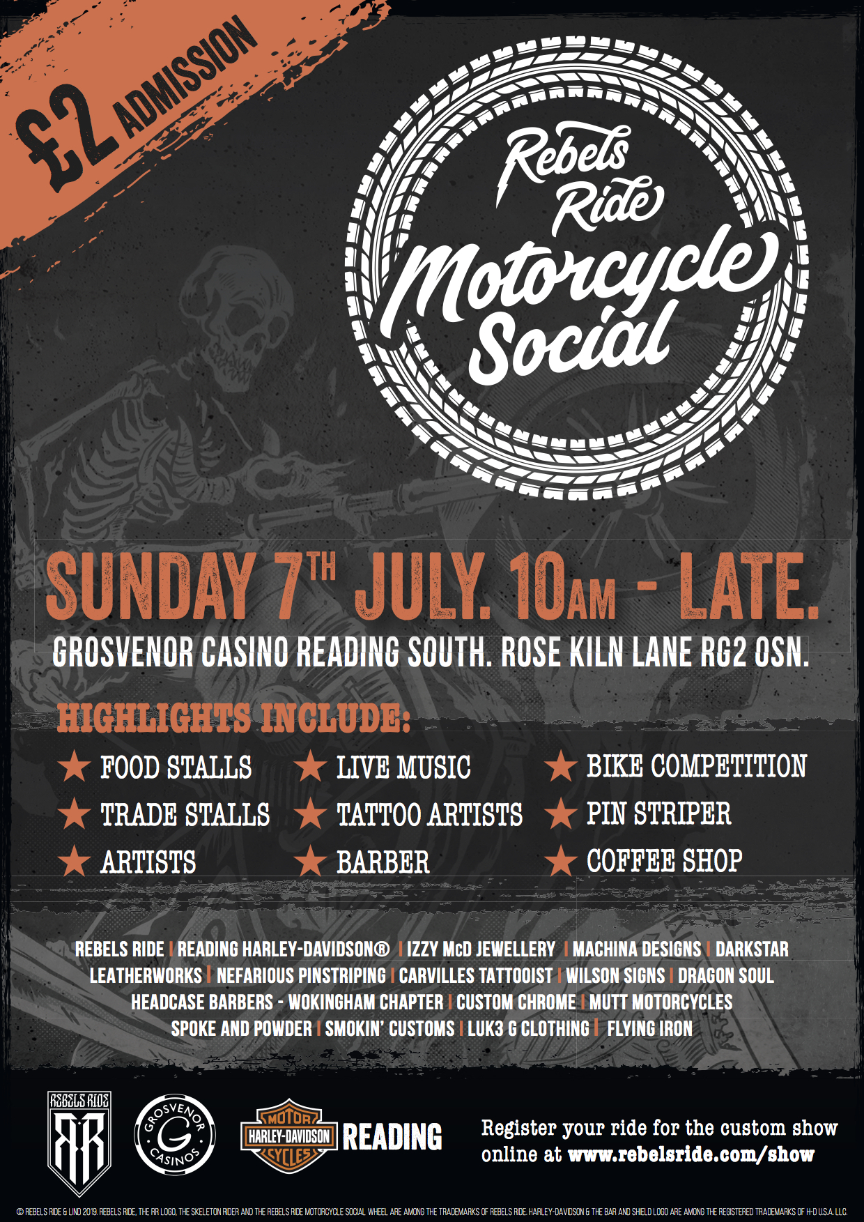Motorcycle Social 2019 — REBELS RIDE