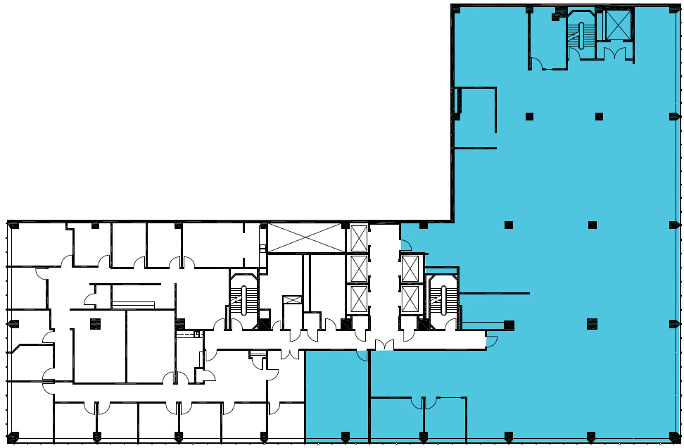 Up to 9.975sf available on the 6th floor.