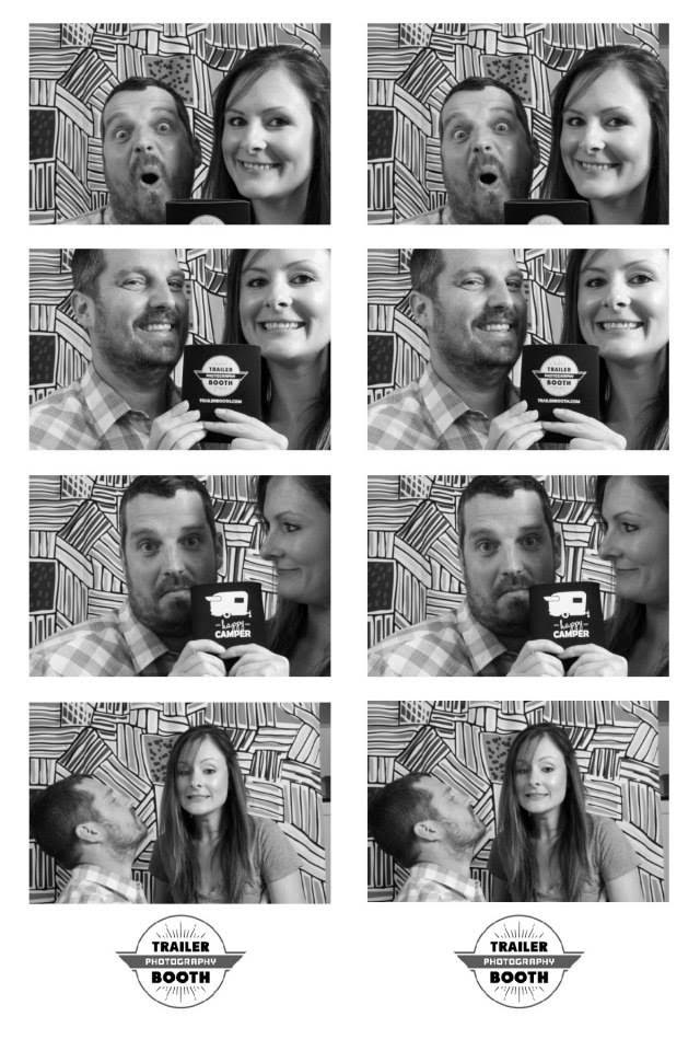 Allison & Cameron - proud owners of Tammy the Hammy, Austin's mobile photo booth for weddings, events, and more!