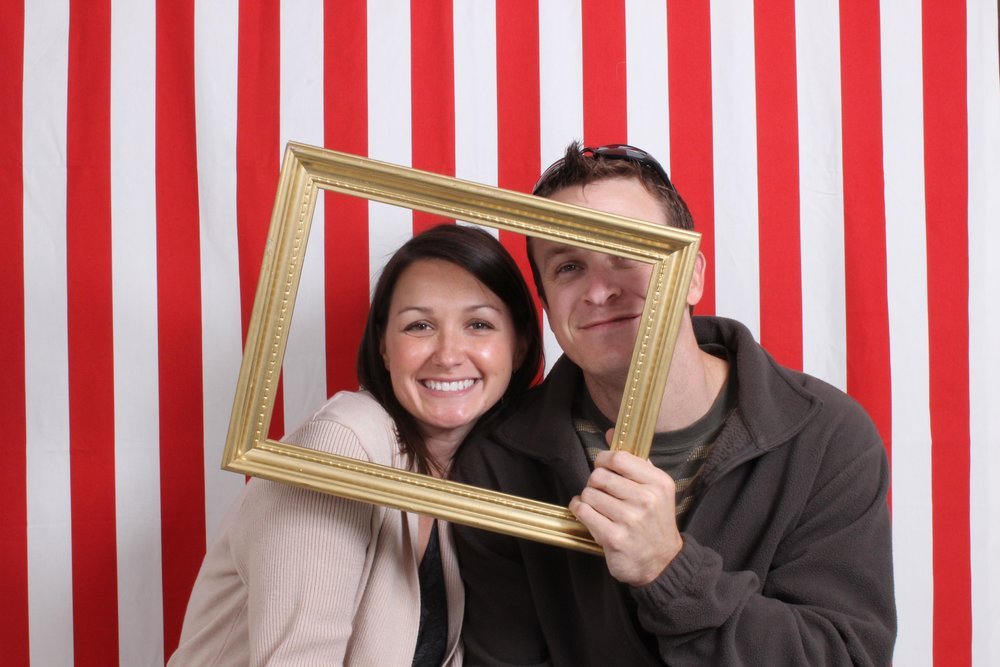 Folks having fun in Tammy the Hammy, Photo boothAustin Texas