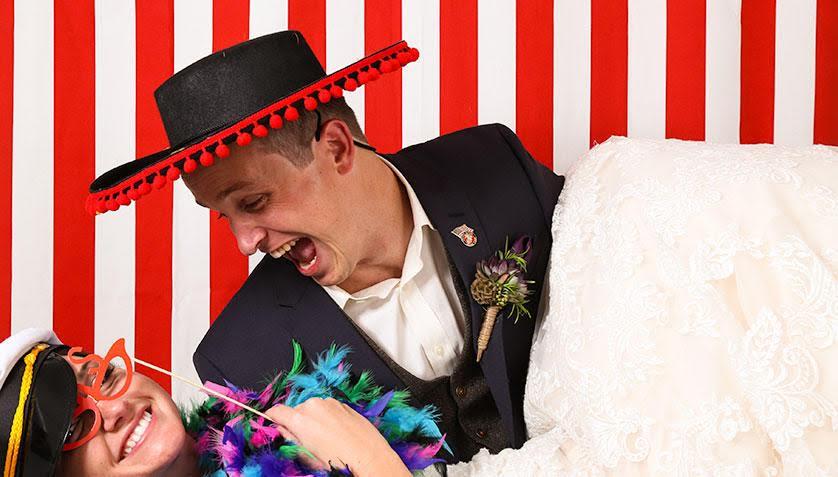 Wedding photo booth Austin, Texas