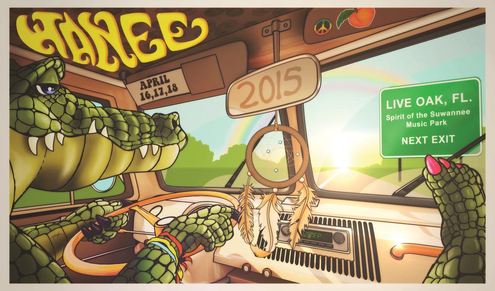Wanee 2015 Poster Design