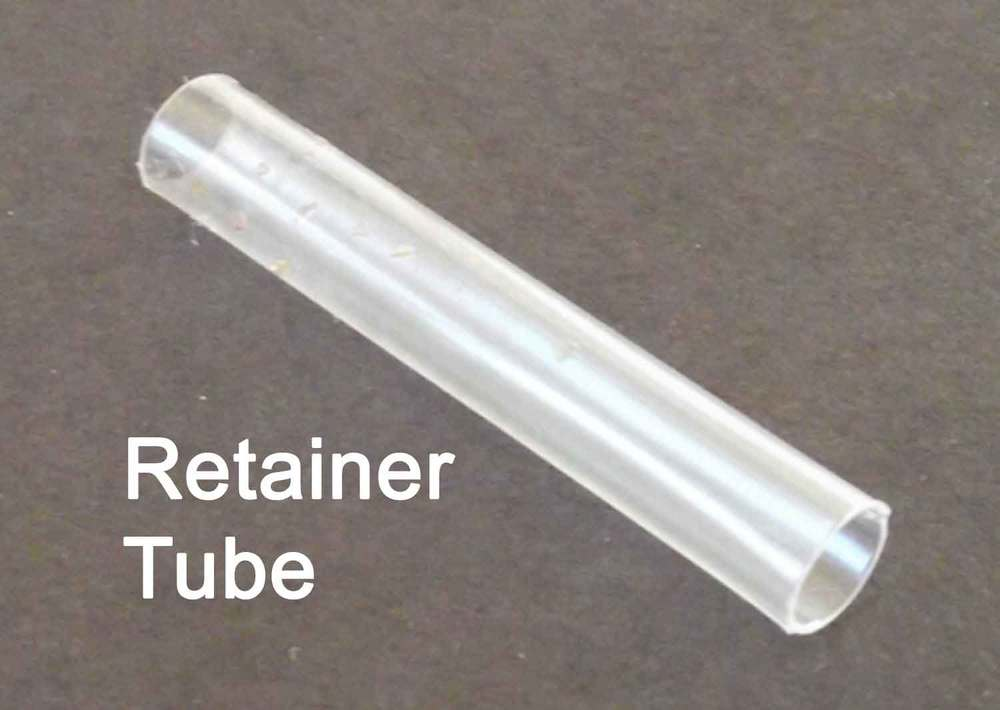 Hearing Aid Retainer Tube