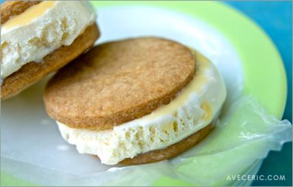 Dulce de Leche Ice Cream Sandwiches — Avec Eric