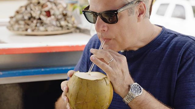 Sipping straight from the source in #puertorico #aveceric #ericripert @ericripert