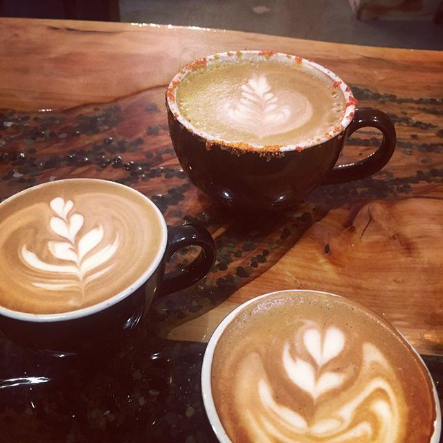 Stay tuned to KGW news channel 8 today at 4 to see how to do latte art and why we show off our skills as baristas. Stay tuned and... #StayCaffeinatedMyFriend #nowthatsole #portlandcoffee #portland #goodcoffee #coffee #latteart #kgwnews #community