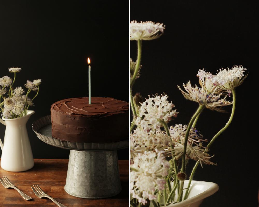 Chocolate Birthday Cake The Broken Bread