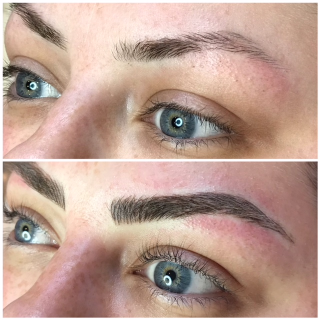 Microbladed eyebrows by Caley Soul