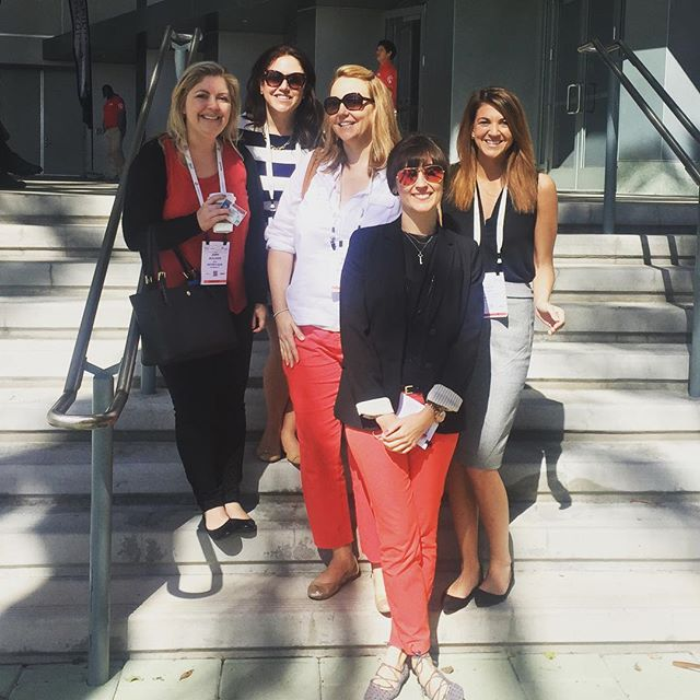 #thetouchagency ladies take #expowest