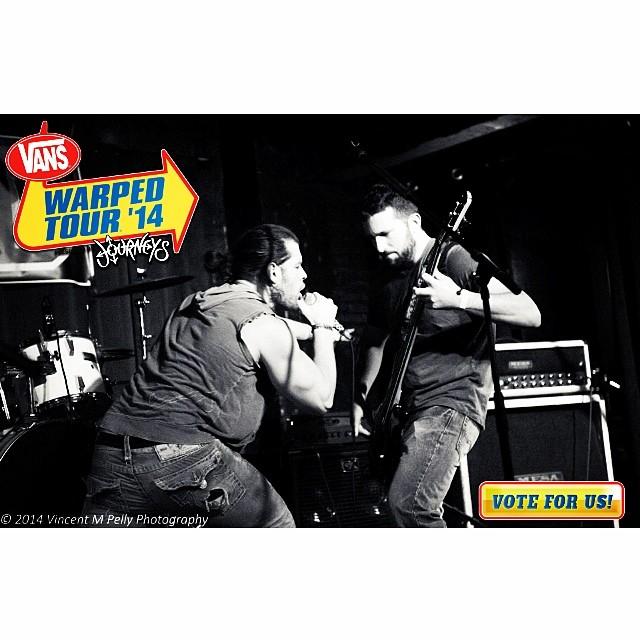 Vote!!! #lubricoma #vanswarpedtour #battleofthebands #picoftheday #bestoftheday #instagood #instamood #follow #me #guitar #love #bleedingfingersbloodyguitar