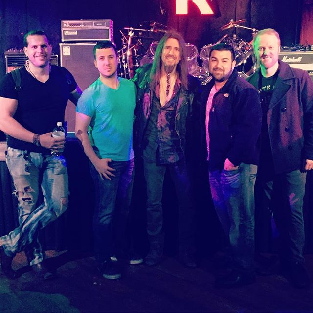 We had a blast playing with Mr. Ron Bumblefoot Thal, Scott Stapp and the rest of Art of Anarchy Monday night at Revolution.. this guy is one of the greatest guitar players around, extremely kind and if you haven't heard him shred; you must! #lubricoma #artofanarchy #bumblefoot #picoftheday #bestofday #instagood #instamood #scottstapp #bleedingfingersbloodyguitar