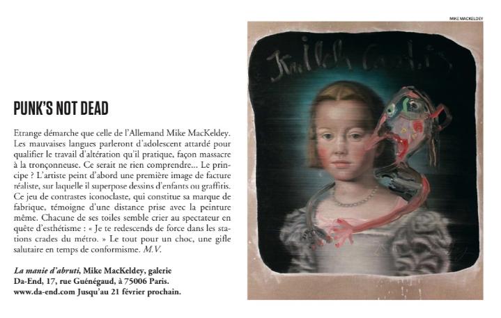 Dans Le Vif / L'Express n°3 du 16 janvier 2014