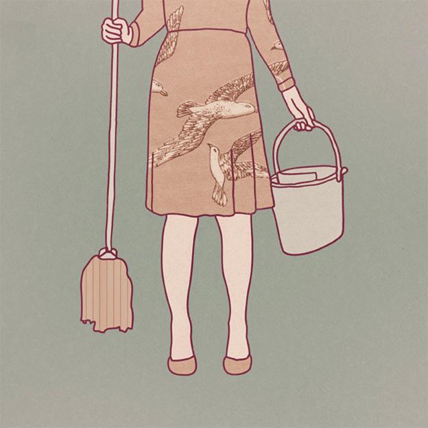 vintageillustrationpastelcollagelinesmundanemopgirldressfabric.jpg