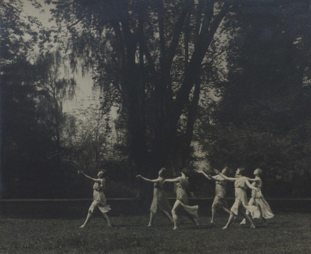 Isadora Duncan's dances by Arnold Genthe, 1919