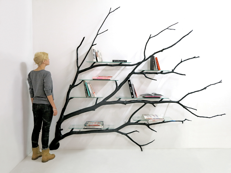 The Shelf Is Part Of Tree Series Which Attempts To Let Natural Forms Found In Nature Dictate Majority Design