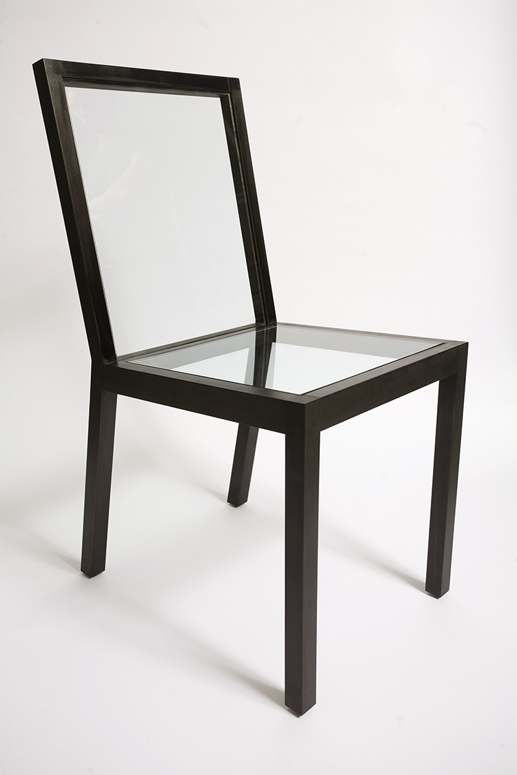 Basic chair design -  Chair And Pairs It Down To Its Minimum Structure Thus Rescuing The Linear Drawing Of The Basic Iconic Chair Design The Surfaces Are Replaced By