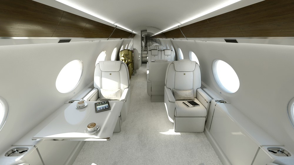 Gulfstream 650 custom interior design & exterior paint work for private client. 2015-2017