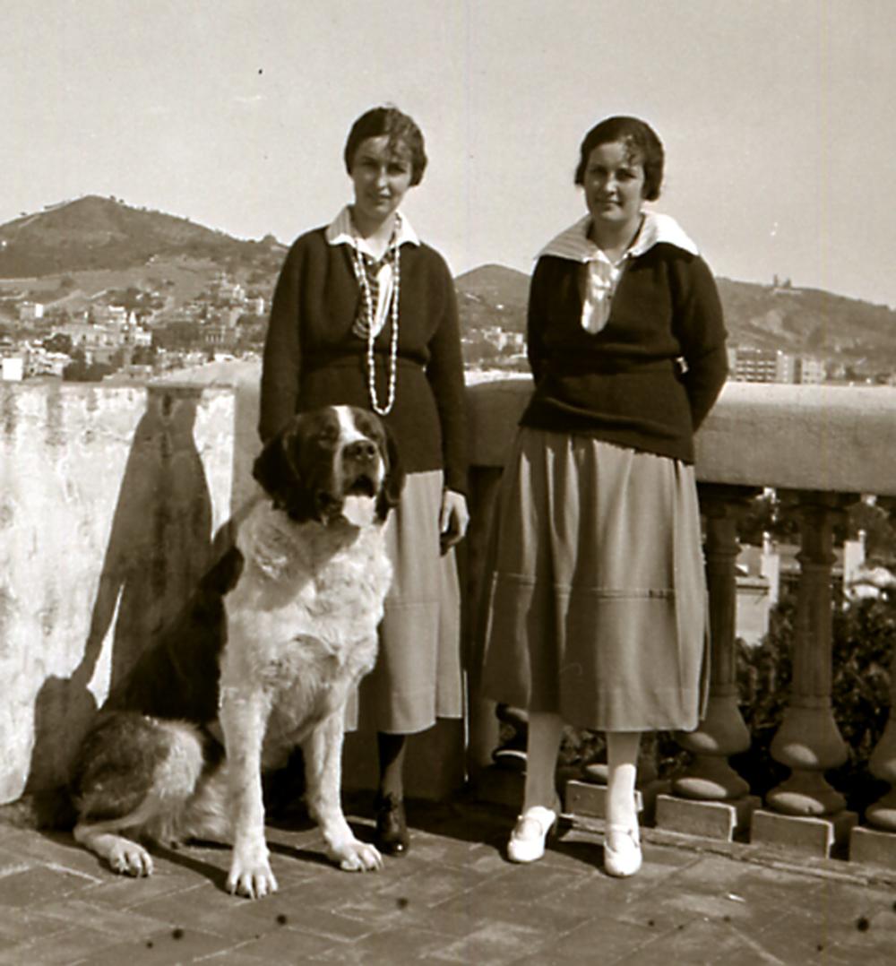 CAROLINA Y MARÍA CON MAX