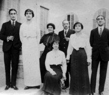 1913  Mis padres con abuelos Delás y hermanos: Loreto, Concha, Ramón